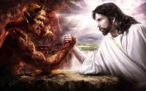 Gesù vince sul male!