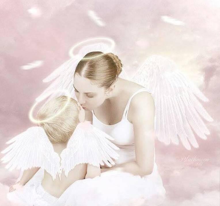 TRA LE BRACCIA DI UN ANGELO