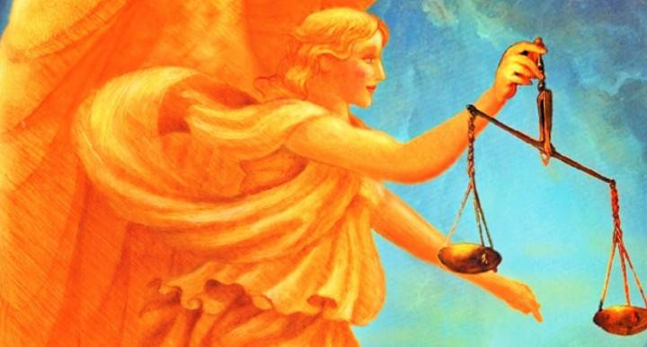 Arcangelo Raguel Angelo della Giustizia