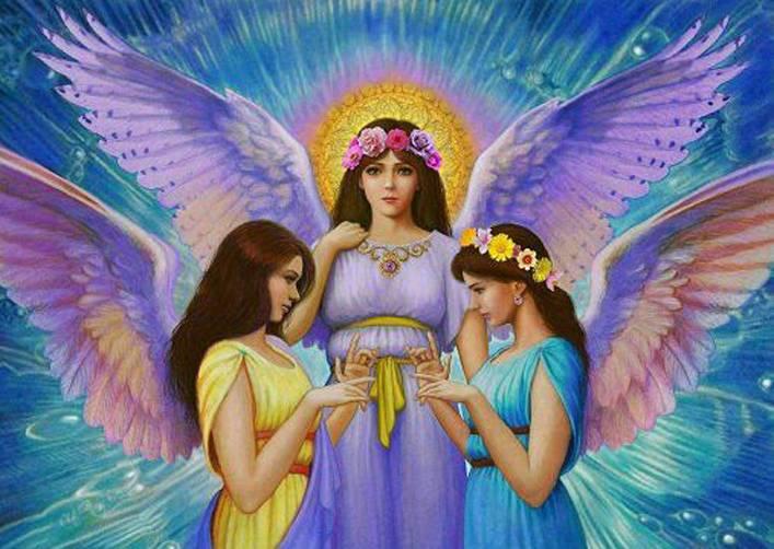 La Natura degli Angeli ed Arcangeli