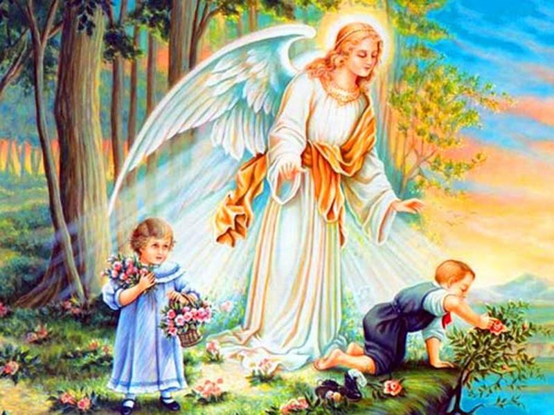 L'ANGELO CUSTODE E MADRE PROVVIDENZA