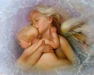 BAMBINI CHE VEDONO ANGELI O SPIRITI (NDE-ESPERIENZE PREMORTE)