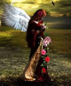 CURATI CON GLI ANGELI E FIORI