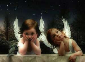 GLI ANGELI E I BAMBINI