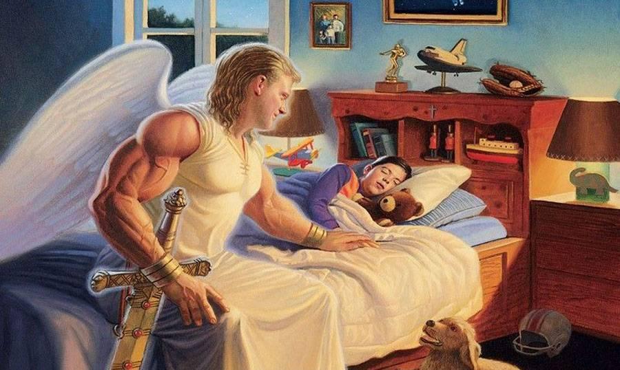 Grazie Arcangelo Michele per proteggermi durante il sonno